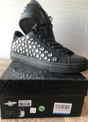 Сникерсы, кроссовки, туфли crime london размер 40, длина по стельки 26 см