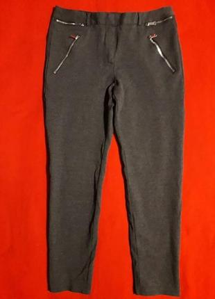 Тепленькие плотные штаны лосины с вискозой f&f
