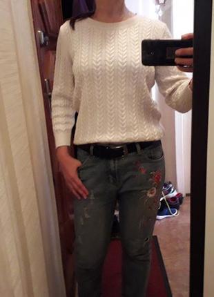 Кофта свитер h&m с шерстью