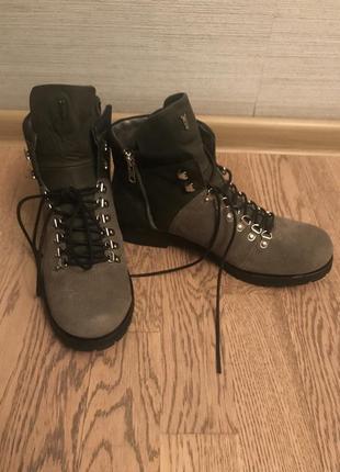 Ботинки crime london,размер 40, длина по стельки 26 см