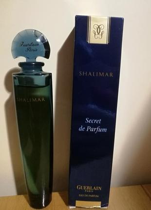 Парфюм shalimar secret de parfum guerlain