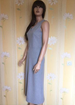 Платье миди из плотной ткани next 12 размер