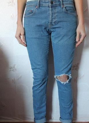 Рваные джинсы only скинни