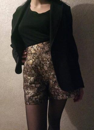 Стильные шорты высокая талия посадка от бренда asos