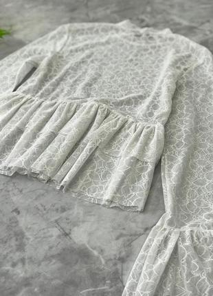 Пикантная блуза с игривыми воланами  bl1848090 missguided2
