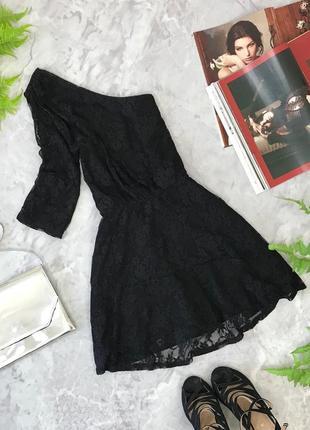 Гипюрового платье с вырезом на одно плечо  dr1848062 dorothy perkins