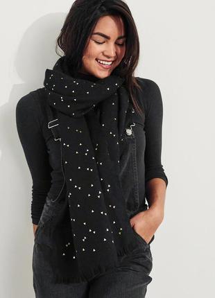 Тёплый шарф hollister