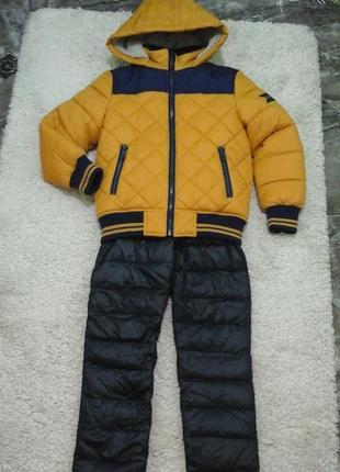 Класний комплект на зиму, ріст 116 - 122 см.