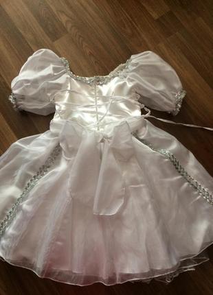 Супер платье снежинки или принцессы2
