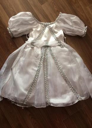 Супер платье снежинки или принцессы1