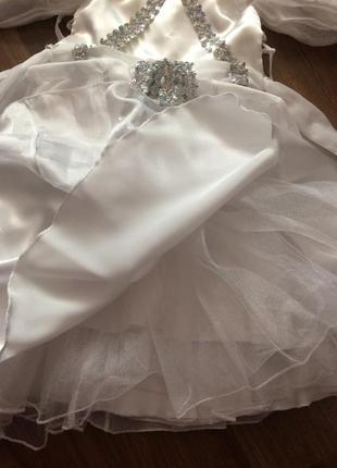 Супер платье снежинки или принцессы3