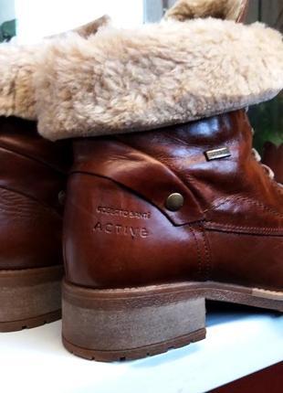 Очень теплые,комфортные ботиночки! про-во  италия ! 41р
