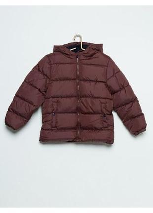 Ликвидация распродажа зимняя куртка для мальчика детская  kiabi очень теплая