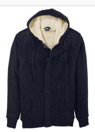Теплая кофта на меху куртка livergy
