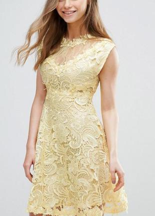 Кружевное платье y.a.s molin victorian