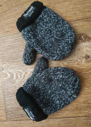 Перчатки на флисе 3-6 лет