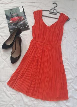 Яркое платье шифон