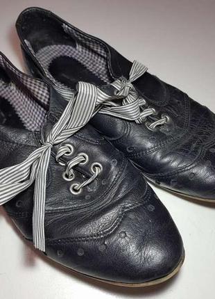 Туфли лодочки кожаные venice, 24 см. в хорошем сост.