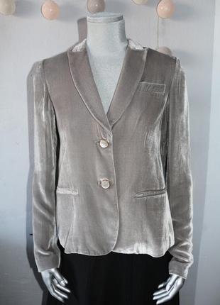 Велюровый пиджак жакет liu jo
