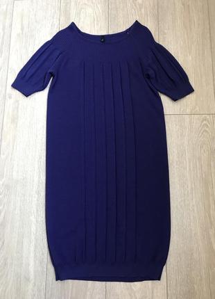 Теплое платье туника для беременных