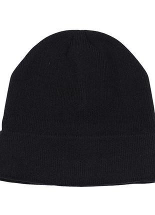 Вязаная женская шапка бини1
