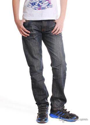 Прямые серые брендовые джинсы 11-12 лет denim