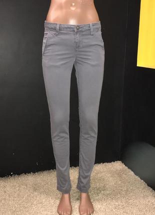 Хлопковые брюки, ткань плотная, 25 размер
