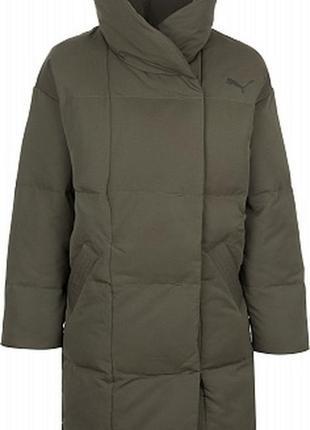 Пуховик одеяло куртка puma зимняя