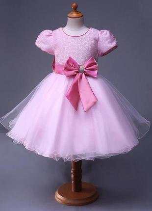 Размер 80-140 разные цвета букет роз шикарное нарядное пышное платье для девочки