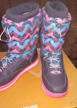 Термо ботинки сапоги, дутики outventure arctic st71 37 размер
