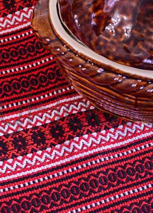Скатерть в украинском стиле «carpathian mountains» на пасху на стол