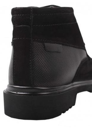 f2858c300 Черные мужские ботинки 2019 - купить недорого мужские вещи в ...