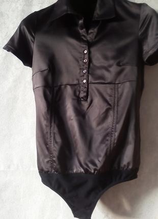 Комбидрес рубашка блузка комбидрес боди