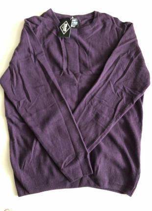 Уютный теплый шерстяной свитер tcm tchibo xl