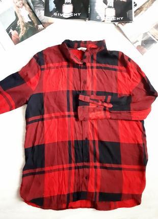 Рубашка в клетку h&m /2я вещь в подарок