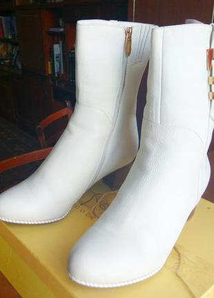 Зимові шкіряні чоботи