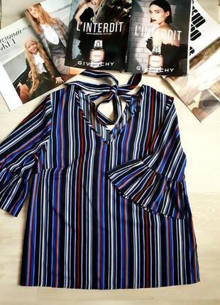 Блуза с воланами /2я вещь в подарок