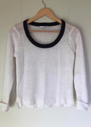 Стильный свитер tally weijl размер s белый