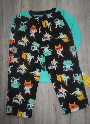 Пижама хлопок флис carters 3т, 4т, 5т4 фото