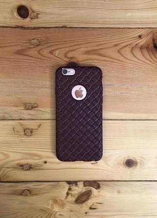 Чехол iphone 6s бордо