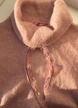 Оригинальный свитер/ кардиган, размер s