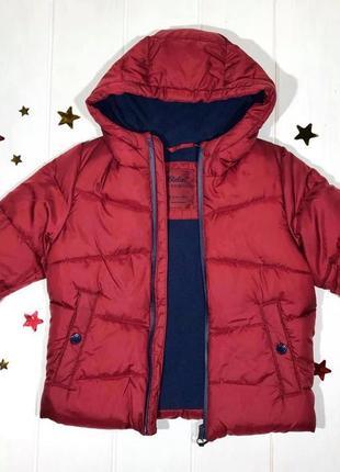 Ликвидация распродажа зимняя куртка для мальчика детская примарк очень теплая