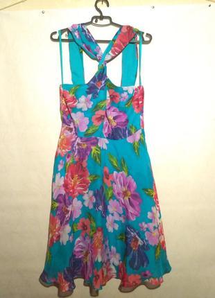 Сарафан платье шелк 100% silk