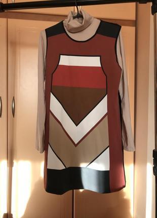 Супер стильное платье 2в1: вечерний вариант +повседневный casual style