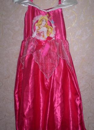 Карнавальное новогоднее платье принцесса золушка  7-8 лет
