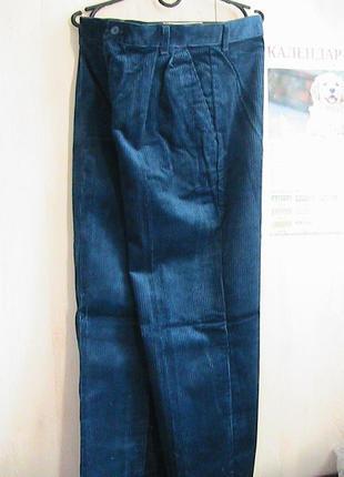 Новые брюки вельветы 32-34 lee usa