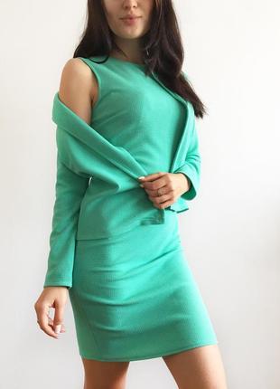 Костюм ( платье+пиджак )