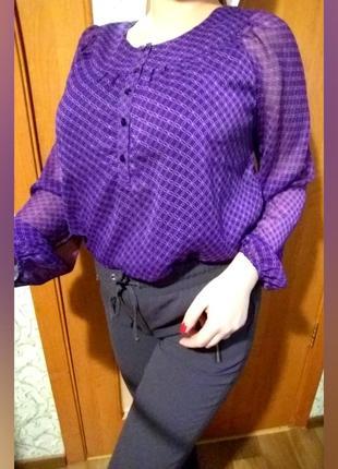 Красивейшая блуза, блузка с прозрачными рукавами