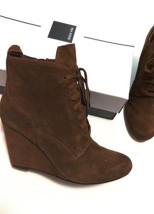 Рыжие демисезонные ботинки dolce vita ( оригинал из сша 🇺🇸)