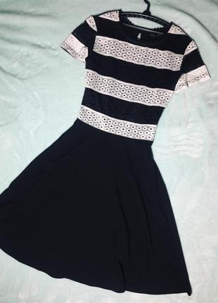 Платье с элементами кружева от dorothy perkins